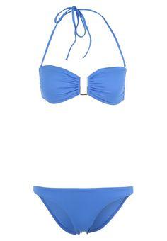 barcelona bikini blue melissa odabash #bandeaubikini #melissaodabash