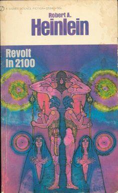 Robert Heinlein Covers by Gene Szafran | Long Gone But Not Forgotten