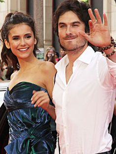 Vampire Diaries Celebrity Couples, Relationships That Started on ...