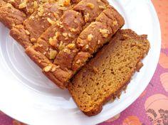Not-Your-Average Pumpkin Bread. Vegan and can be prepared gluten free using quinoa flour!