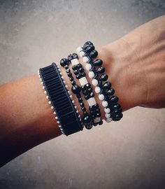 Black and white mood#ohsocutethings #handmade #jewelry #greekdesigners #greekdesigner #greekfashion #greekstyle #instapic #instajewels #instafashion #bohostyle #fashionista #bohochic #bejeweled #bohemian #shop #style #stones #semiprecious #gems #bling #black #fall 15 #womenstyle#bracelets