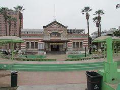 Edificio histórico Aduana. Arica. XV Región. Chile.