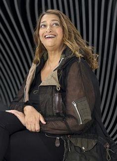 Internatioanl architect , Iraqi Zaha Hadid
