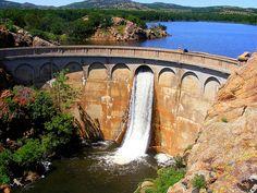 Quanah Parker Dam, Wichita Mountains, Lawton, Oklahoma