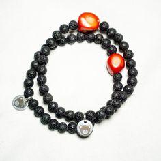 Lava Bracelet www.brownbearclothing.com