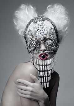"""Beautiful Monster"" nº 5. Personal Project. Madrid, 2011 #Avant Garde"