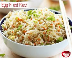 Egg fried rice tastes great and easy to prepare with a combo of fried rice and eggs. Visit: http://www.bestdesifood.com