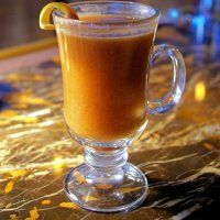 Hot Buttered Rum on a cold winter's night