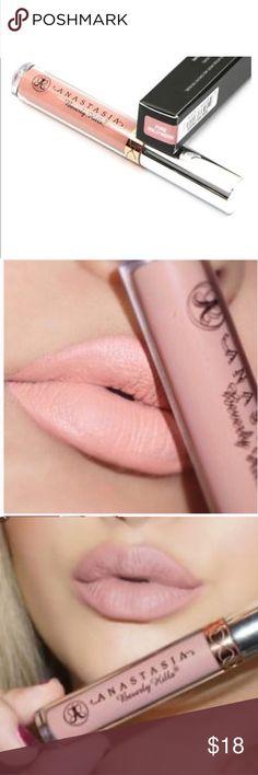 "HP 1/28 💕💗 Anastasia Beverly Hills Lipstick NIB Anastasia Beverly Hills liquid Lipstick New in box shade "" milkshake"" Sephora Makeup Lipstick"