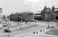 Budapest  Nyugati tér  1952