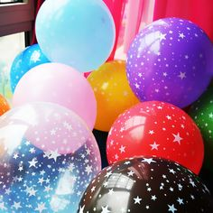 10pcs 12 inch thick 2.8g Romantic Five-pointed star Balloons Latex baby birthday Party Decoration Wedding Supplies Free Shopping ** Detailed information can be found by clicking on the image