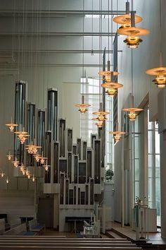 Myyrmaki Church. Leiviska + Kivisalo. Helsinki, Finland. #religiousarchitecture