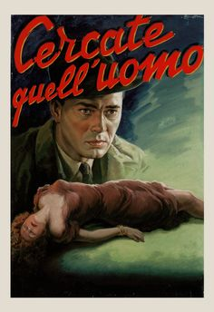 CLASSIC MOVIE POSTER Cercate Quell' Uomo by EncorePrintSociety