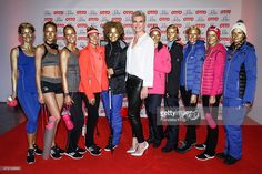 Maria Hoefl-Riesch and models attend the OTTO Exclusive Sport Cooperation celebrations on May 04, 2015 in Munich, Germany.