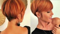 Short copper hair The Effective Pictures We Offer You About blonde balayage californien A quality pi Short Copper Hair, Copper Blonde, Pixie Hairstyles, Pixie Haircut, Haircut Short, Blonde Balayage, Blonde Hair, Short Hair Cuts, Short Hair Styles