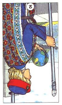 9-21-12 Friday's Tarot Card: REVERSED 2 OF WANDS (Robin Wood Tarot) – You are ready to make a change, and the only way to do so is to release the comfort zone in favor of a new adventure. It's time to broaden your horizons to see what is waiting for you to discover. If fear and worry hold you back, it's time to get over yourself. If you choose to keep worrying, you'll never be ready, so get out there and do what you need to do!