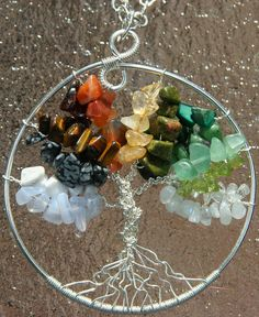 Seasons Of The Year Silver Tree Of Life Pendant Jewelry