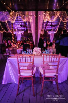 Romantic Cocktails Catering Wedding at Paradise Cove