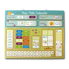 daily routine charts for kids diy Daily Routine Chart For Kids, Charts For Kids, Numbers Preschool, Preschool Activities, Math For Kids, Diy For Kids, French Classroom Decor, Circle Time Board, Classroom Calendar