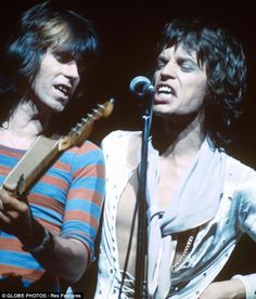 Keith Richards and Mick Jagger