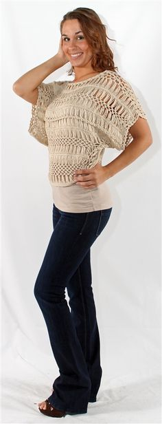 Sand colored sweater crop top