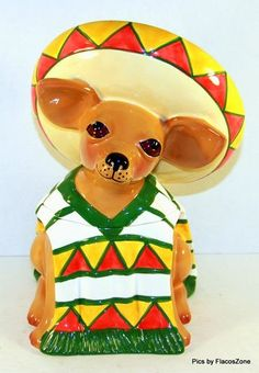 Chihuahua Cookie Jar Entrancing Vintage Mccoy Pontiac Indian Cookie Jar  Just Cookie Jars Design Decoration