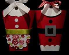 Creations by Patti: Mrs. Claus' Sweet Bag