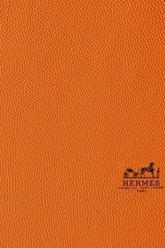 Hermes leather.