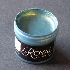 Stencil Paint | Stencil Creme Patina Green | Royal Design Studio