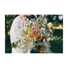 Amy's crazy bouquet.. Photograph by @katmager | Katherine Mager.