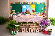 Festinha: picnic da Peppa Pig