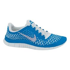 Mens Nike Free 3.0 v4 Running Shoe - Blue/White 11.5  » Price: $99.95 | CLICK IMAGE TO READ FULL DESCRIPTION
