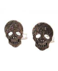 Buy Skull Coin Cufflinks by Paul Smith - Accessories from our Cufflinks range - Silver, Spring Summer 2014 - @ Jonathan Trumbull Paul Smith, Coins, Cufflinks, Skull, Silver, Stuff To Buy, Accessories, Wedding Cufflinks, Money
