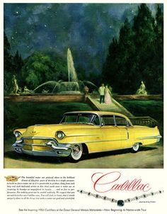 Cadillac with dagmar bumper