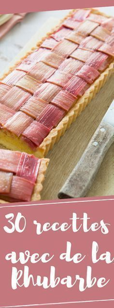 What to do with rhubarb? 50 dessert recipes to enjoy Thermomix Desserts, Köstliche Desserts, Delicious Desserts, Sweet Recipes, Cake Recipes, Dessert Recipes, Desserts With Biscuits, Sweet Tarts, Creative Food