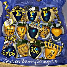 SGRHO chocolate-covered strawberries