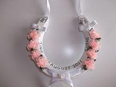 decorated wedding horseshoes