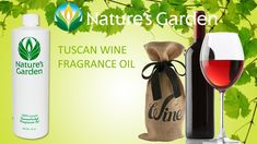 Tuscan Wine Fragrance Oil- Natures Garden #fragranceoil #crafts #diy