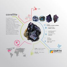 Covellite was the first identified naturally occurring superconductor.
