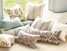 Ballard Perfect Accent Pillows - available May 2012 at ballarddesigns.com