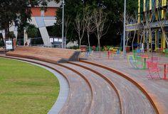 TAYLOR CULLITY LETHLEAN. Monash University 'Caulfield Campus Green'. Caulfield East, Victoria. Australia. 2015.