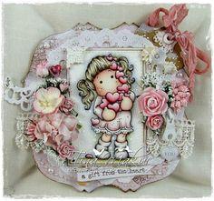 OOAK Magnolia Tilda Card