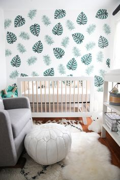 I didn't really have a &qout;theme&qout; in mind when I started off designing baby boy's nursery, but when I stand back I think I see a bit of a Green Leafy trend coming into play. I love the neutral colours of white and birch a lot and paired with greenery I think it makes gives this little space a calm to…