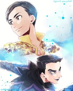 Yuri!!! On Ice (ユーリ!!! On ICE) - Phichit Chulanont & Georgi Popovich