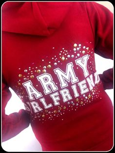 Womans+Love+and+War++'+Army+Girlfriend+'+by+LoveandWarclothing,+$55.00