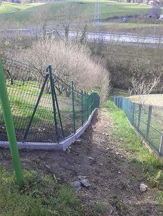 Cerramiento panel hércules para cercado de parcela privada