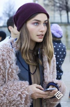 Paris Fashion Week Street Style / Nina Ricci fashion show 2014
