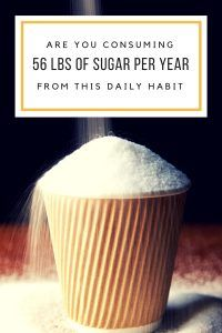 Healthy eating doesn't mean giving up sweets. Sugar isn't evil...but consuming 100+ pounds of it per year is excessive.