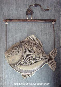 www.helka-art.blogspot.com - love this!! RT АРТ-КОПИЛКА от HELKI: Мастерская керамики