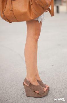 ¿Cuñas para otoño? o con calcetines! #iwynsh
